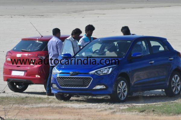 Hyundai I20 Thế Hệ Mới Xuất Hiện Tại Ấn Độ !